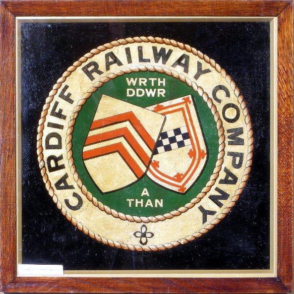 13: Cardiff Railway Company, an original coat of arms,