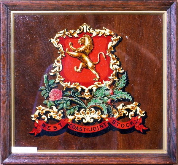 15: West Coast Joint Stock, an original coat of arms cr