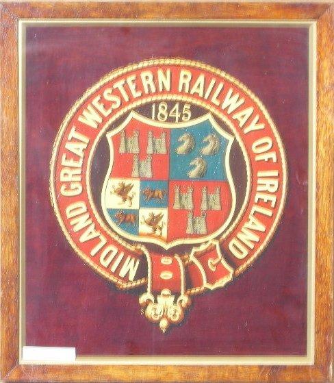 16: Midland Great Western Railway of Ireland 1845, an o