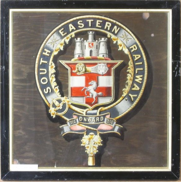 17: South Eastern Railway, an original coat of arms, ph