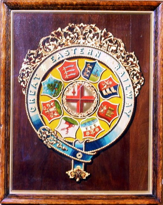 19: Great Eastern Railway, an original coat of arms cre