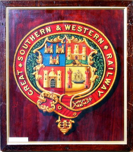 21: Great Southern & Western Railway, an original coat