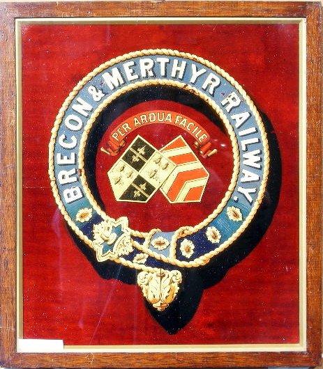 22: Brecon & Merthyr Railway, an original coat of arms,
