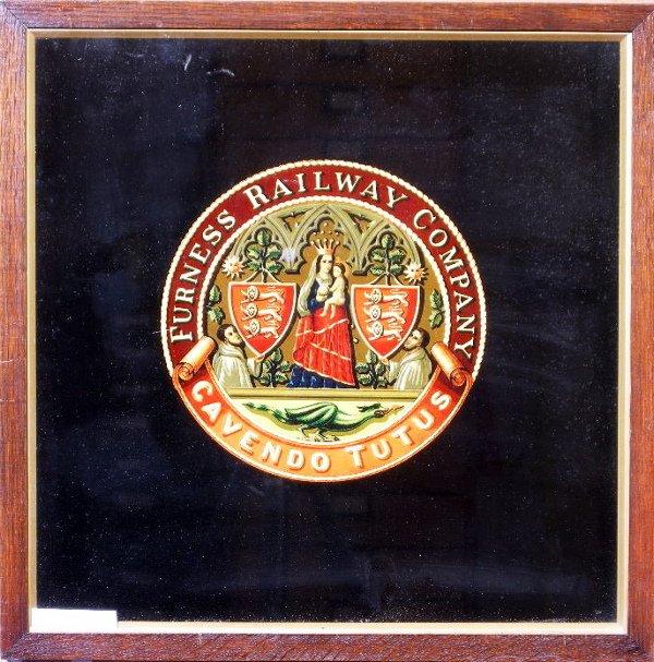 23: Furness Railway, an original coat of arms crest, va