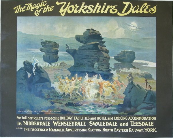 288: Anon The Magic of the Yorkshire Dales, Brimham Roc