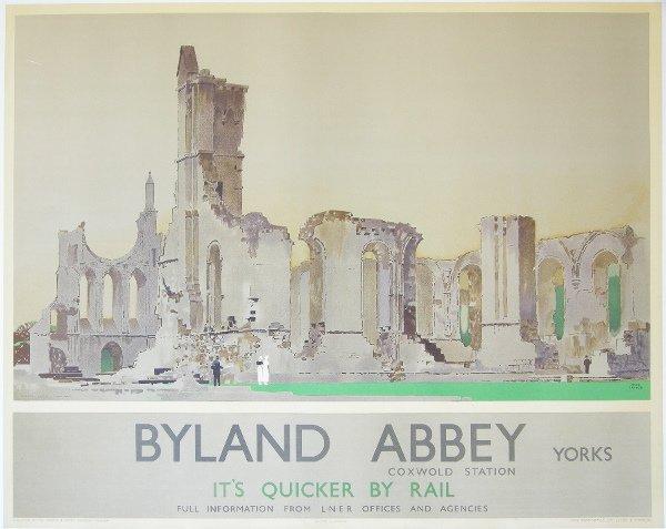 290: Fred Taylor (1875-1963) Byland Abbey Yorks, origin