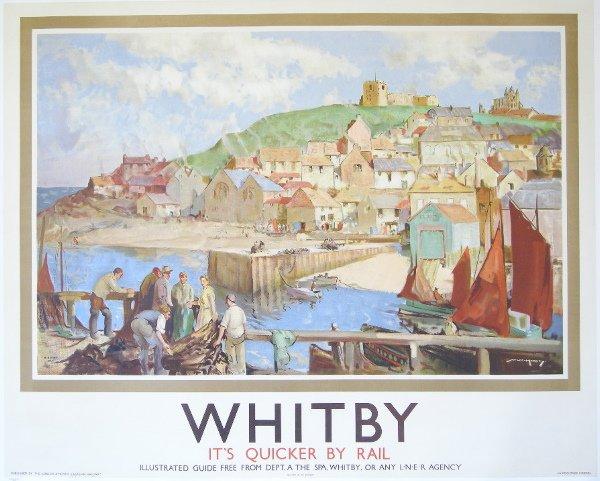 291: William Lee-Hankey (1869-1952) Whitby, original po