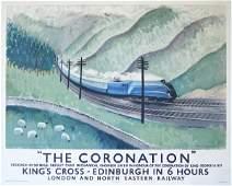 """292: Doris Zinkeisen (1898-1991) The """"Coronation"""" Strea"""