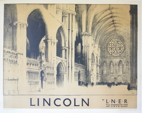 298: Fred Taylor (1875-1963) Lincoln, original poster p