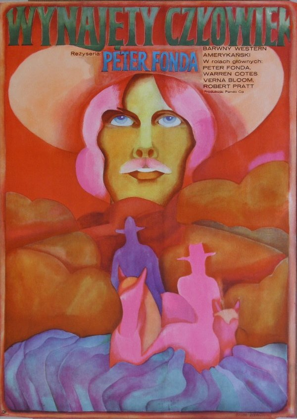 306: Polish posters, four artists include Dittrich 1972