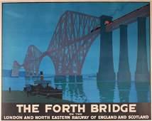 H G Gawthorn (Henry George 1879-1941) Forth Bridge on