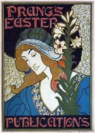 174: Louis J Rhead (1858-1926) Prang's Easter Publicati