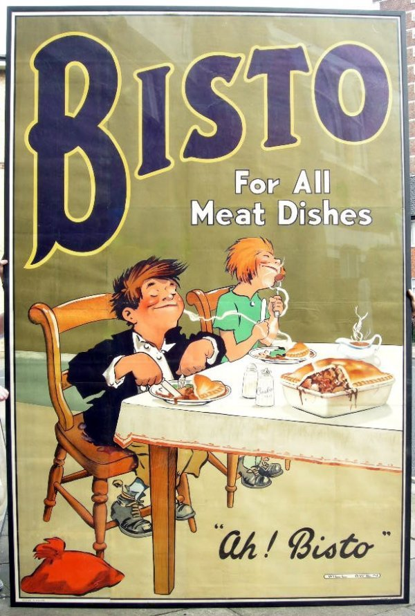 """198: Will Owen (1869-1957) """"Ah! Bisto"""" Bisto for all me"""