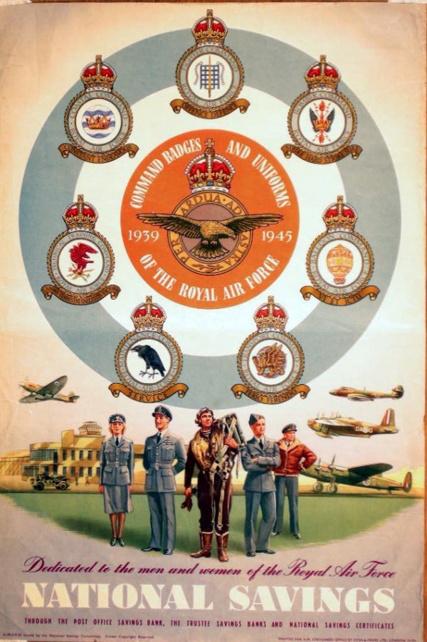 1: Anon Royal Air Force Command badges and Uniforms 193