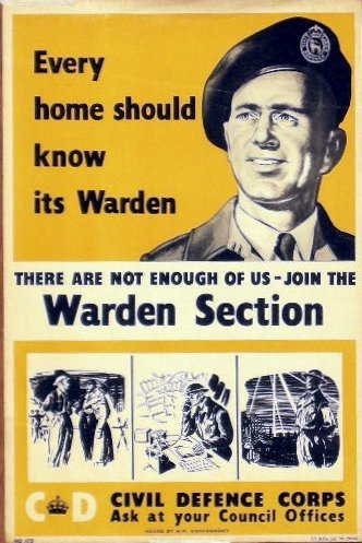 6: Anon Every home should know its warden, HO103 printe