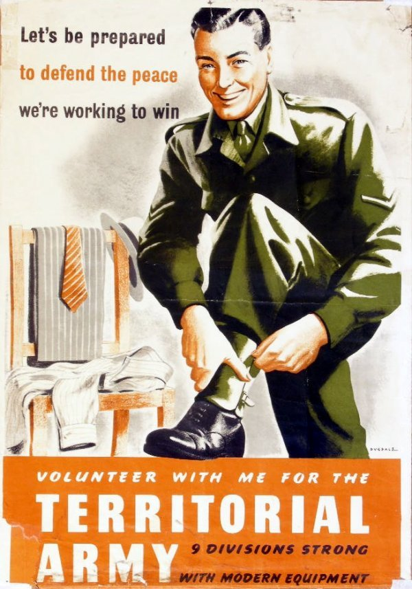 10: Dugdale Volunteer with me for the Territorial Army,