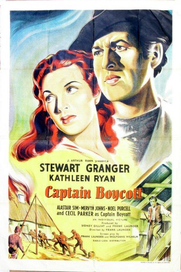 15: Film poster - J Arthur Rank's Captain Boycott starr