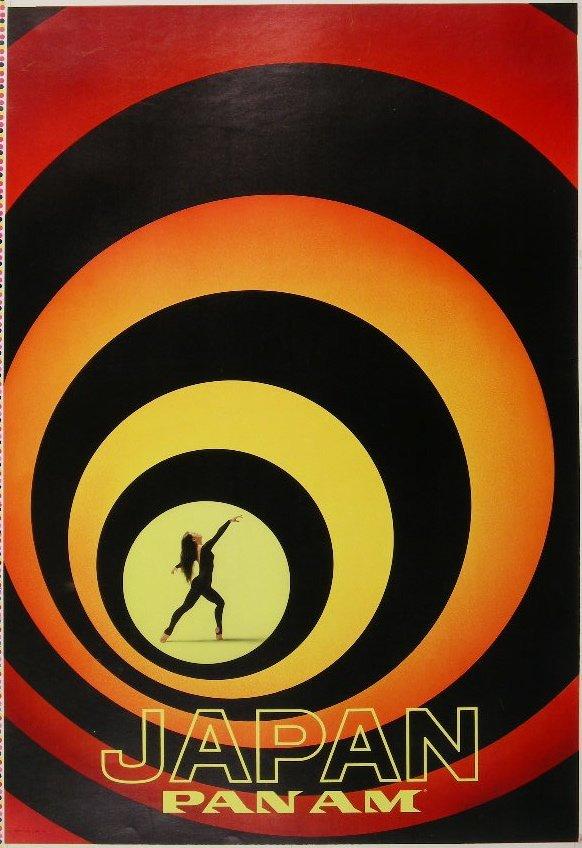 299:  Anon Japan Pan Am, original poster printed in USA