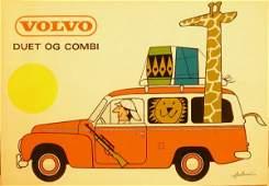 332: Antoni Volvo, original poster printed in Denmark -