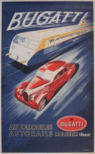 R. Geri (dates unknown) Bugatti Automobiles Autorails