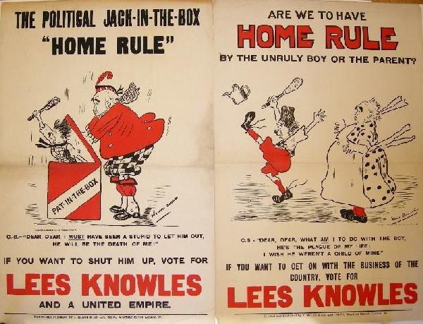 "3: Winnie Burnand The Political Jack-in-the-box ""Home R"