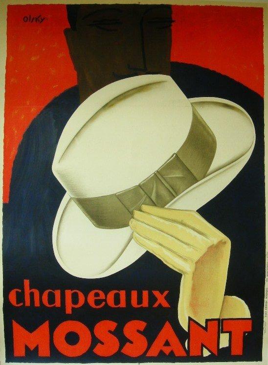 2: Olsky (dates not known) Chapeaux Mossant, original p