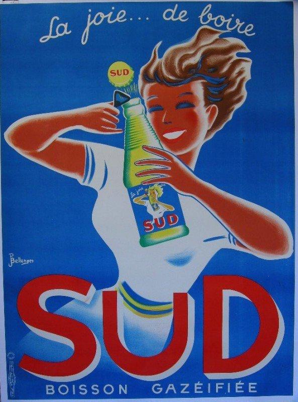 8: Jacques Bellenger (1903-1985) Sud La Joie... de boir