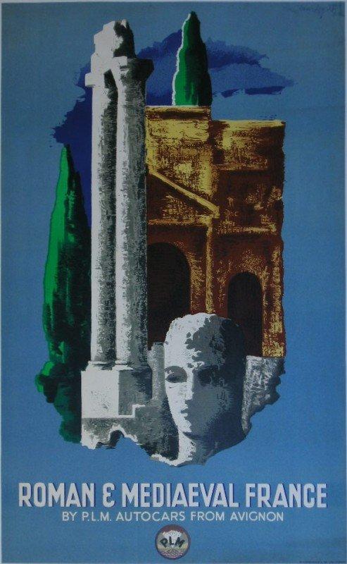15: Marton Roman & Mediaval France, original poster pri