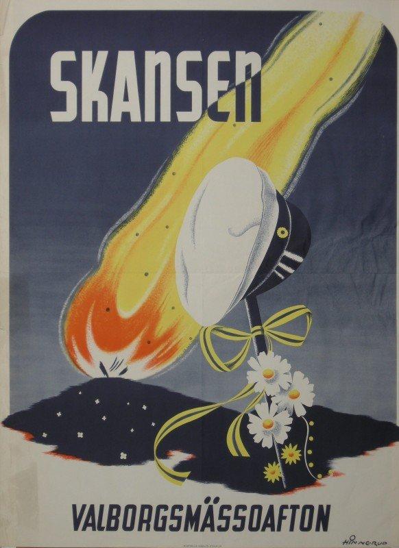 20: Hinnerud Skansen Valborgsmassoafton, original Swedi