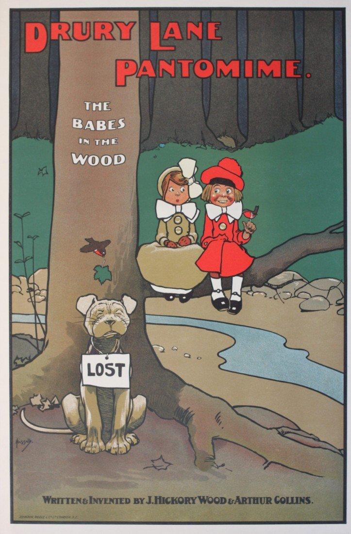 1: John Hassall (1868-1948) Drury Lane Pantomime, Cinde