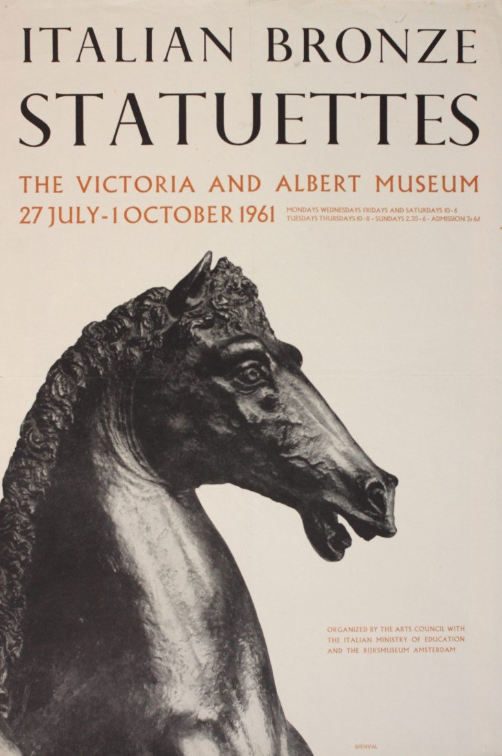 6: Exhibition posters, a collection of ten including It