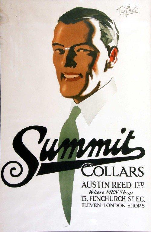 8: *Tom Purvis (1888-1959) Summit Collars Austin Reed L