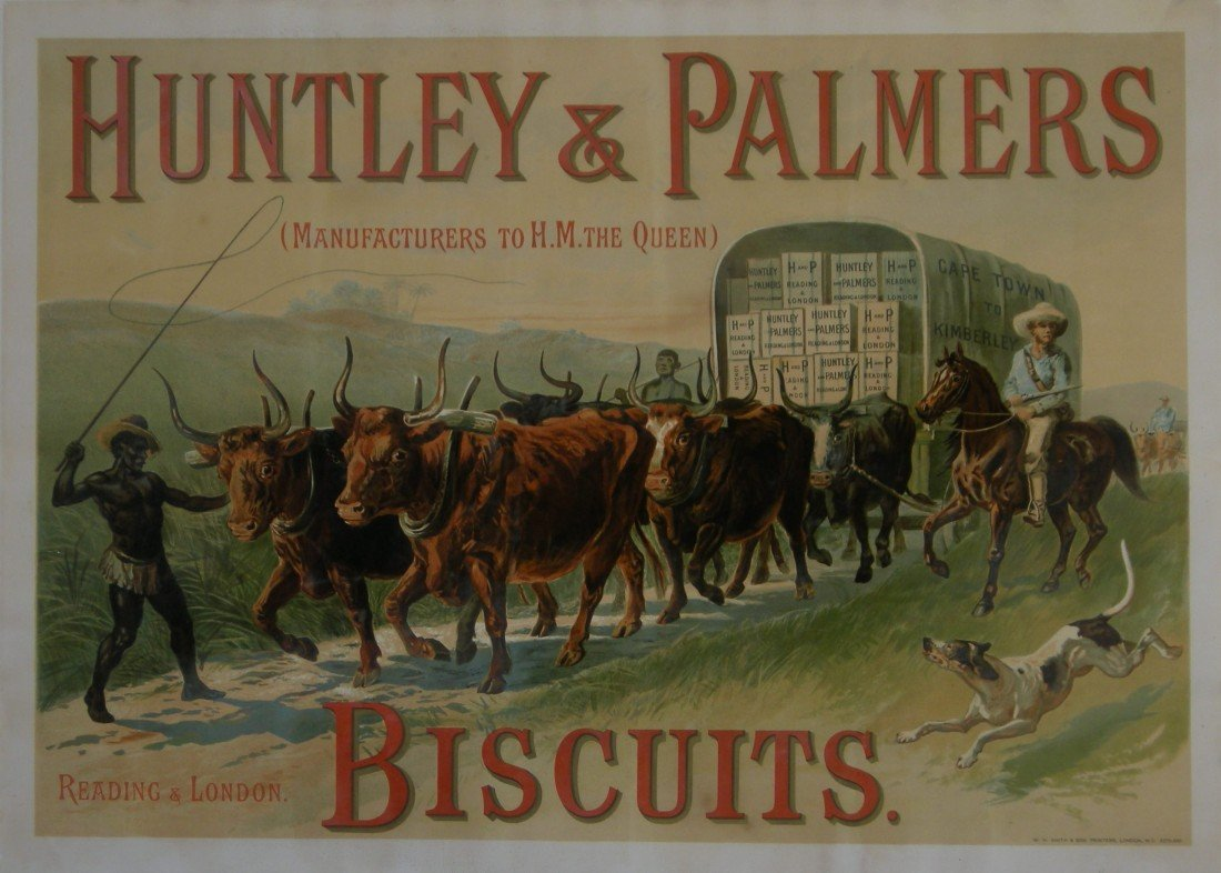 11: Anon Huntley & Palmers Biscuits Reading & London, (