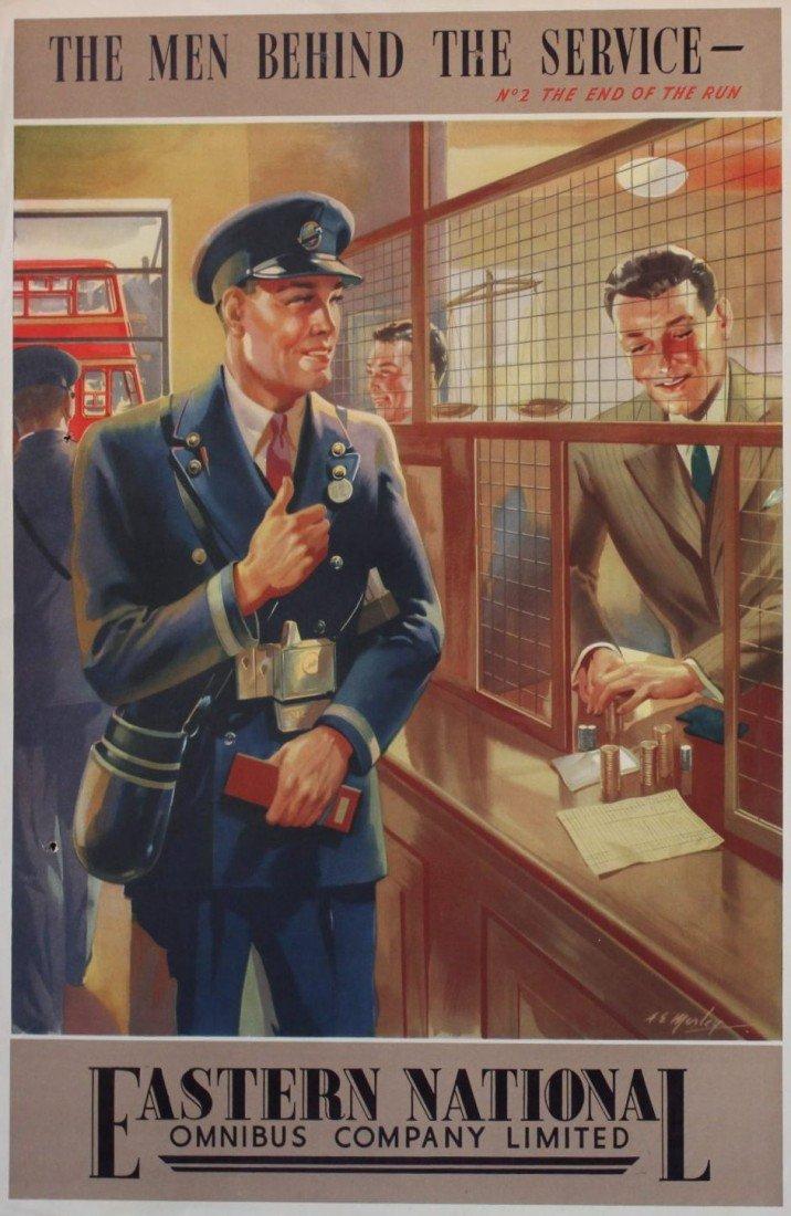 13: A E Morley Eastern National Omnibus Company, No 2 T