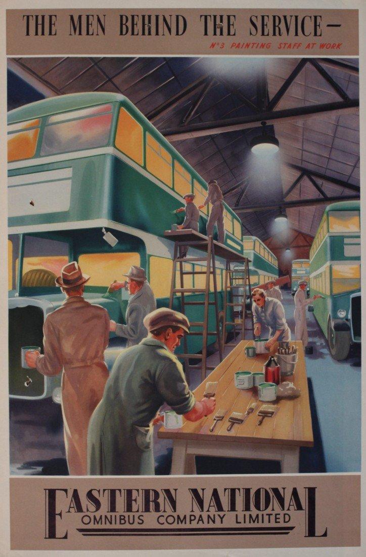 14: A E Morley Eastern National Omnibus Company, No 3 P