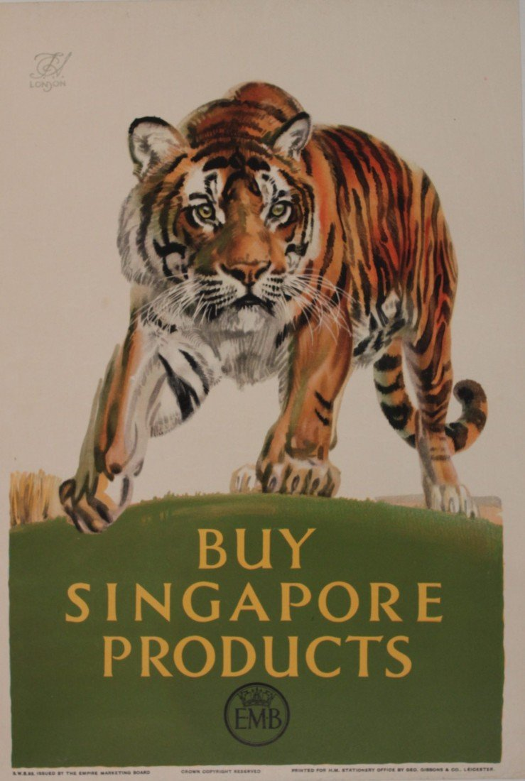 24: F C Herrick (1887-1970) Buy Singapore Products, ori