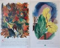 538: John Farleigh (1900-1965) Spring at Last, original