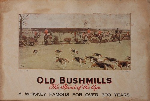 1: Cecil Aldin (1870-1935) The Cheshire, Old Bushmills