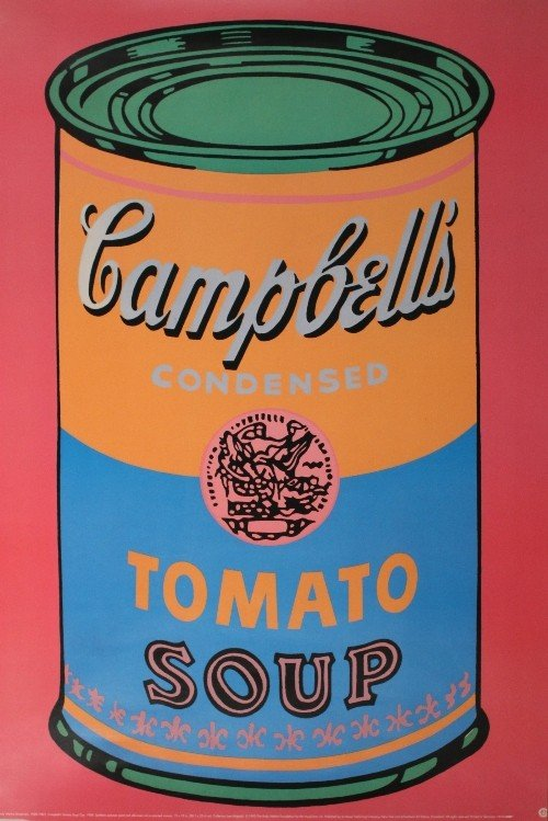 4: Andy Warhol, Campbell's Soup and Marilyn Monroe, rep