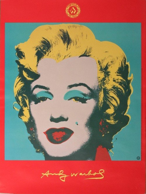 4: Andy Warhol, Campbell's Soup and Marilyn Monroe, rep - 2