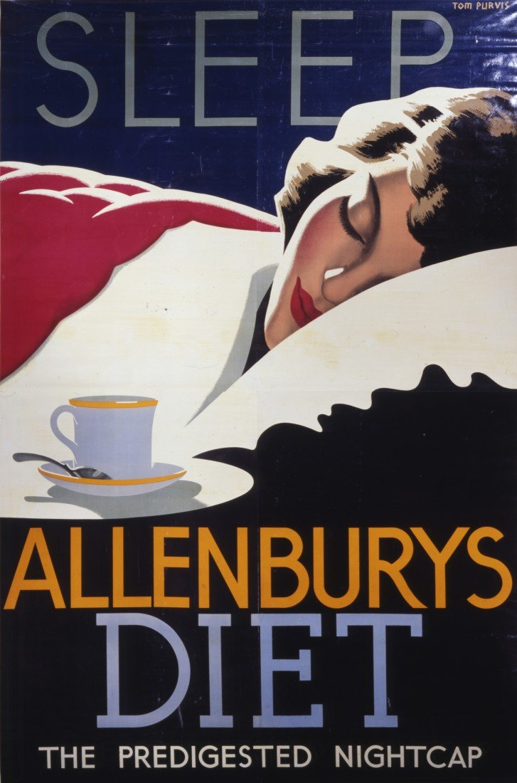 7: Tom Purvis (1888-1959) Sleep Allenburys Diet, origin