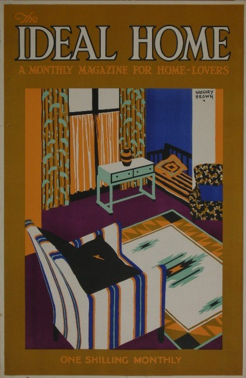 13: Gregory Brown (1887-1941) The Ideal Home Magazine,