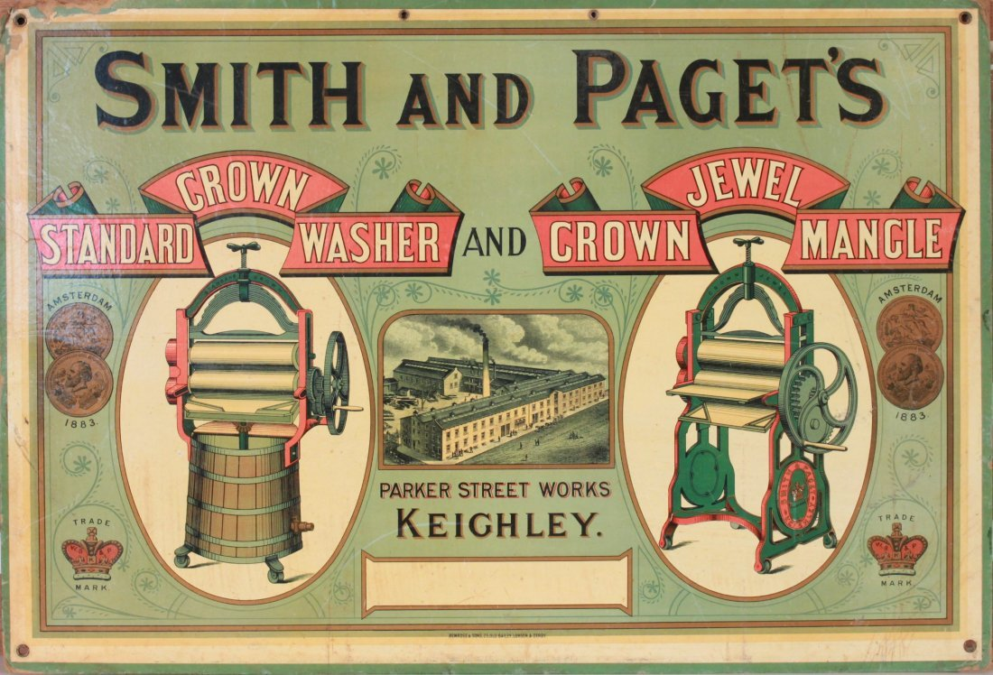 18: Late 19th Century Showcard - Smith and Paget~s Crow