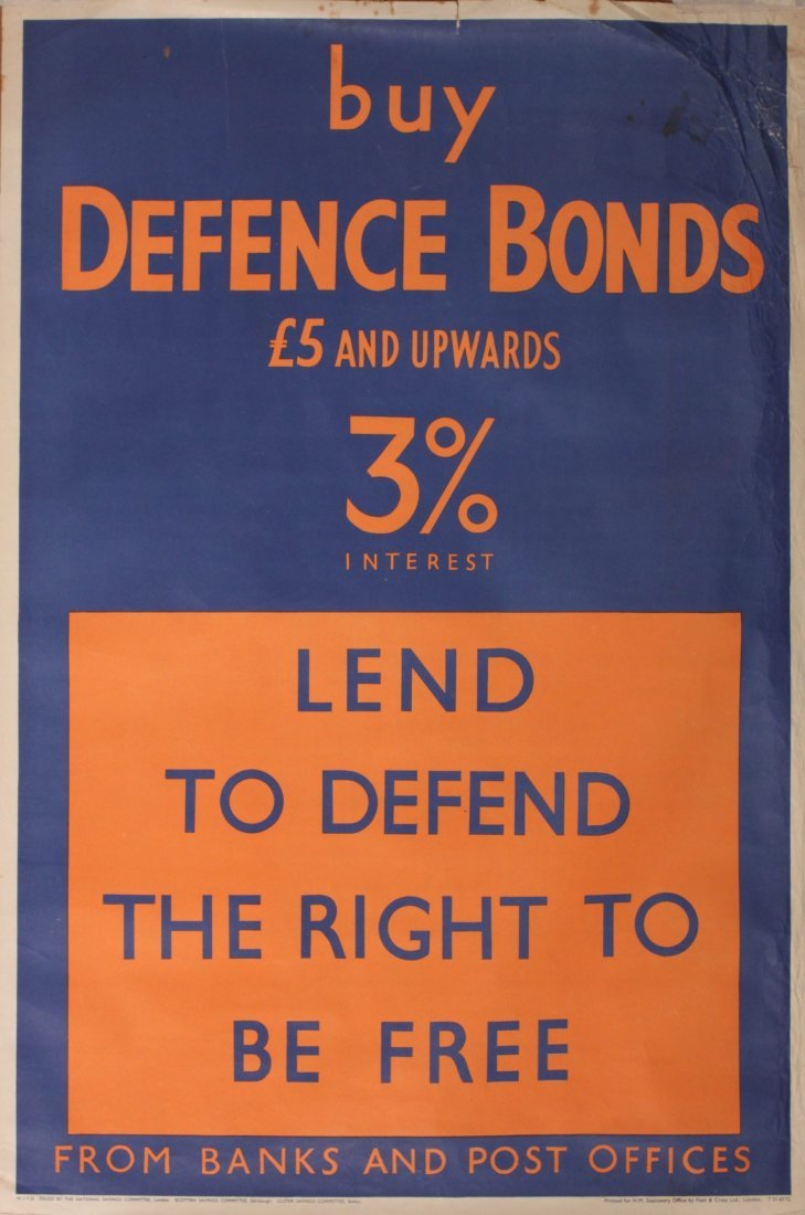 97: John Pimlott Lend to Defend the Right to be Free (F - 3