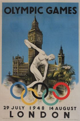 1: Herz (Walter B.1909 ) Olympic Games 29 July - 14 Aug