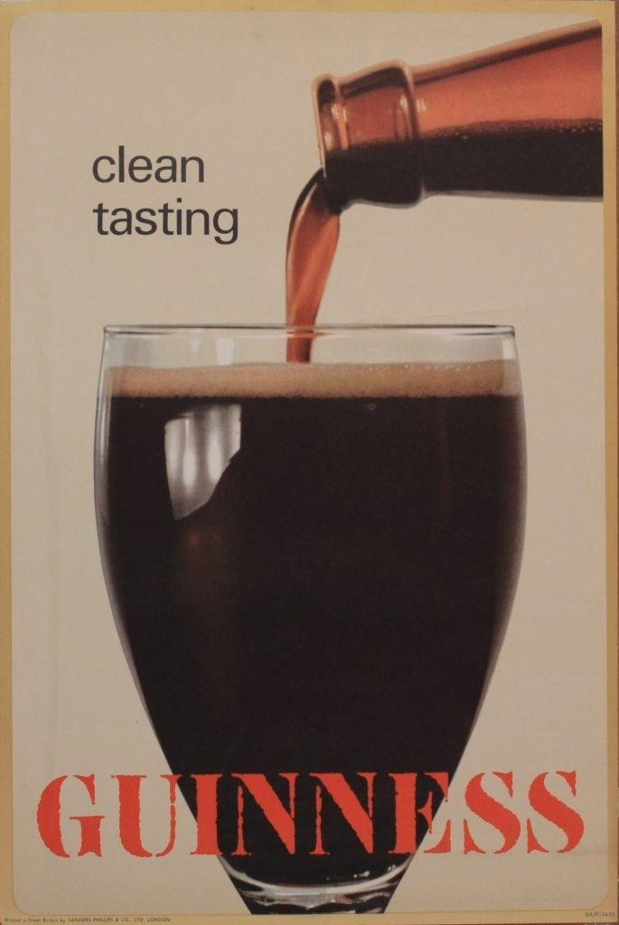 4: Clean tasting Guinness, original poster GA/P1/2673 p
