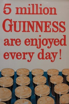 6: 5 Million Guinness are enjoyed every day !, original