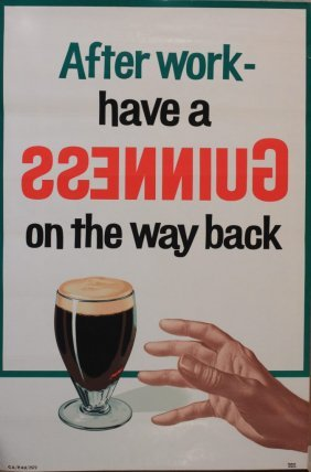7: After Work - have a Guinness on the way back, origin