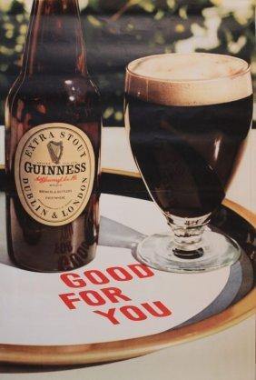 9: Guinness Good for You, original poster GA/P4U/2605 b
