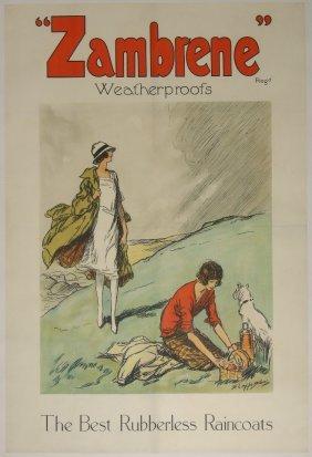 "16: Claude A Shepperson (1867-1921) ""Zambrene"" Weatherp"